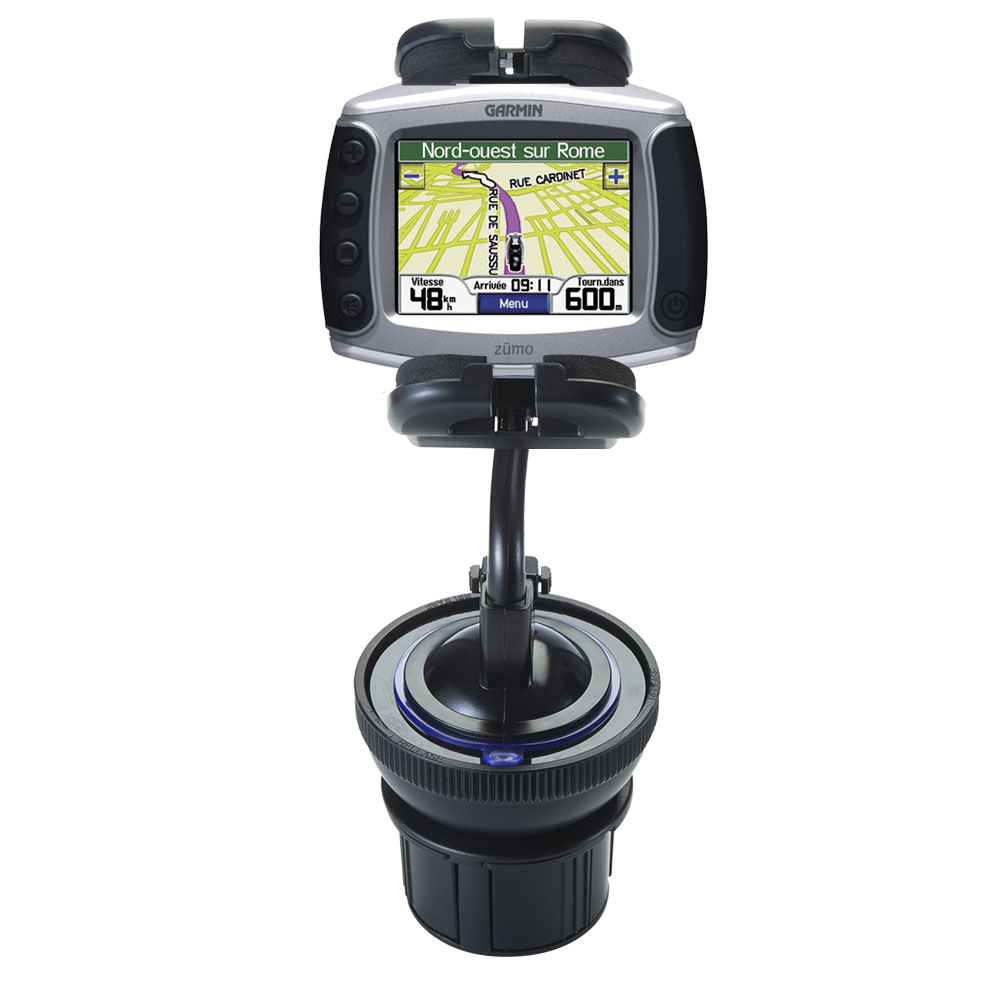 Cup Holder compatible with the Garmin Zumo 450