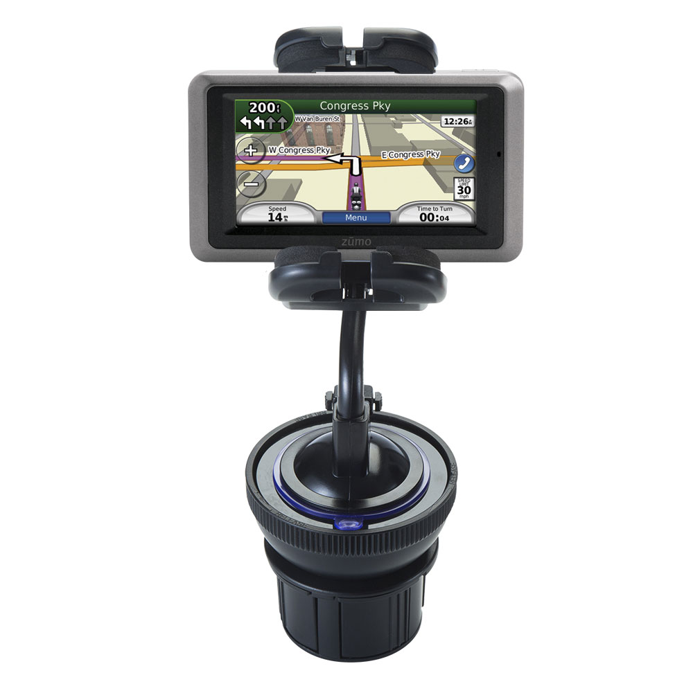 Cup Holder compatible with the Garmin Zumo 665