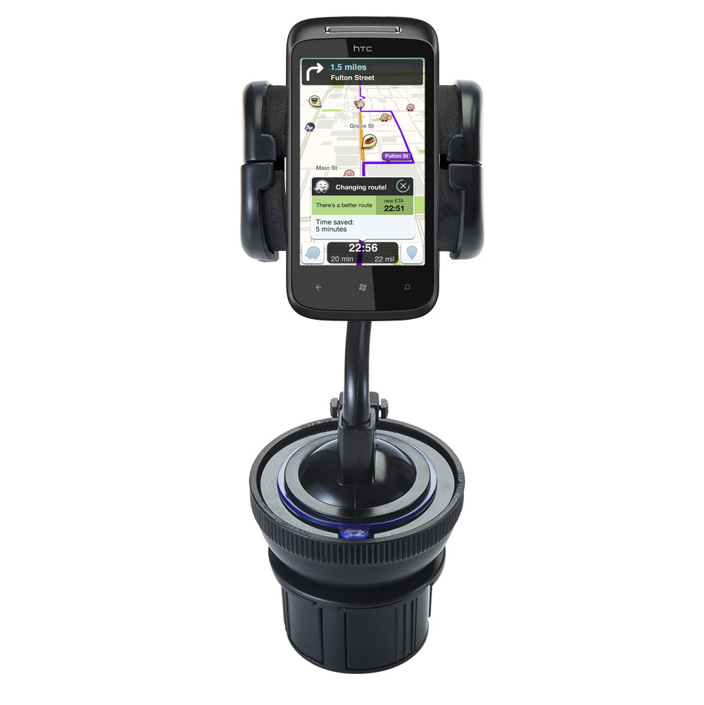 Cup Holder compatible with the HTC 7 Mozart