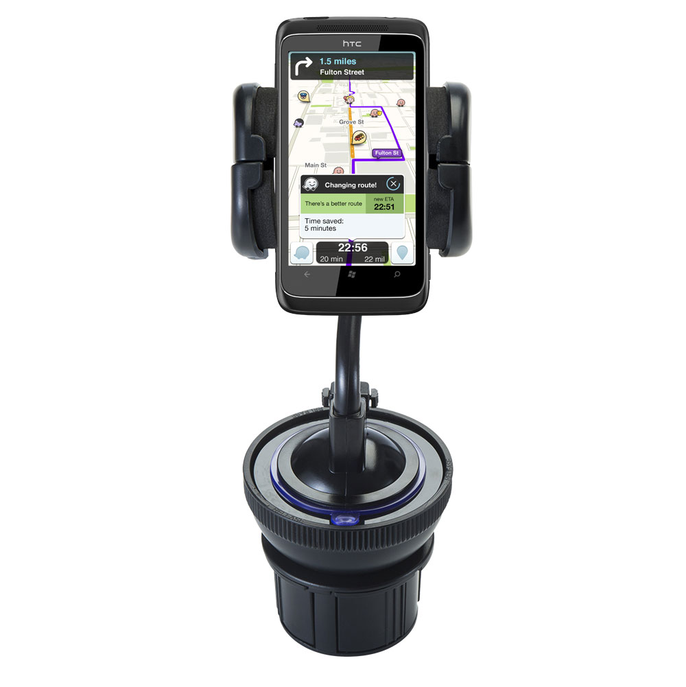 Cup Holder compatible with the HTC 7 Trophy