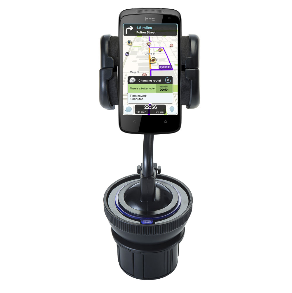 Cup Holder compatible with the HTC Desire 500