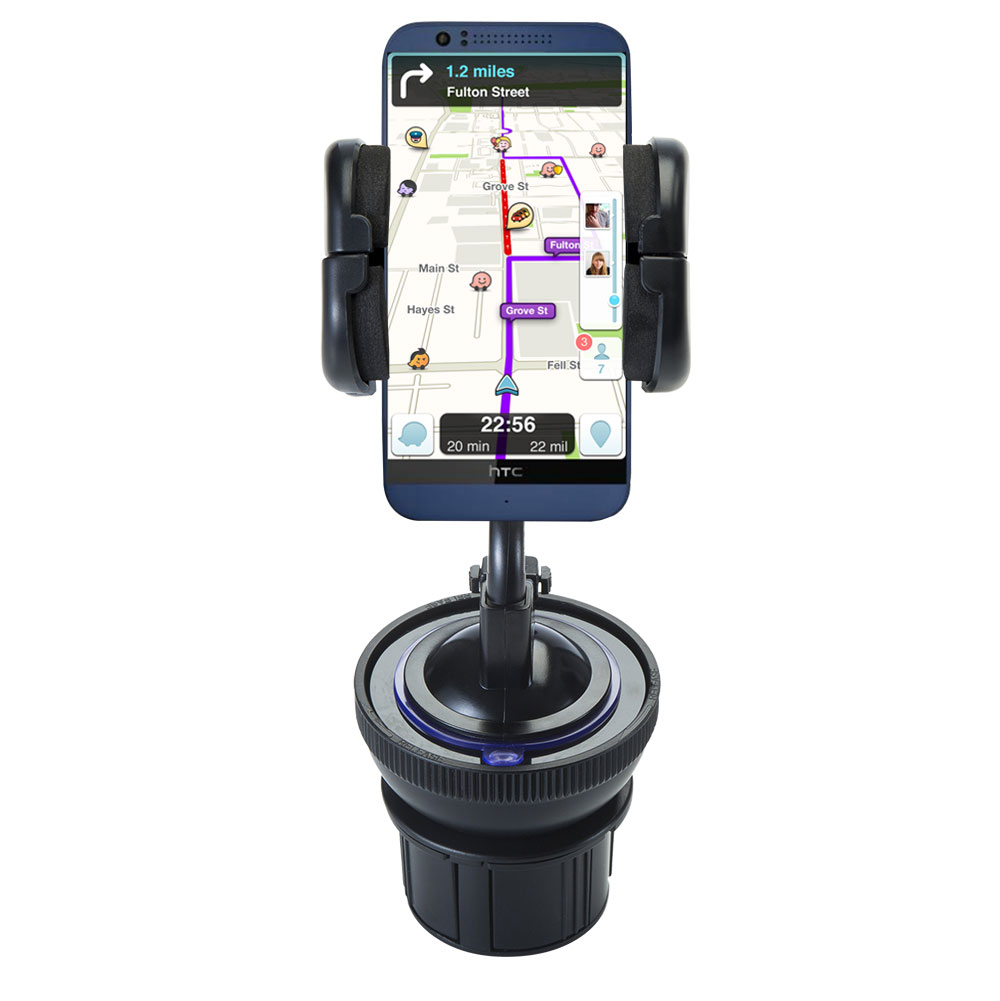 Cup Holder compatible with the HTC Desire 510