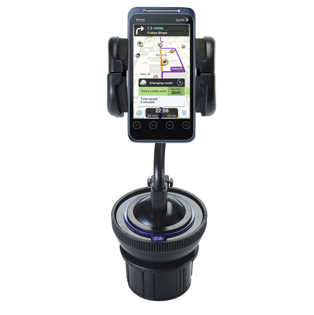 Cup Holder compatible with the HTC Evo Shift 4G