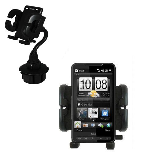 Cup Holder compatible with the HTC HD2