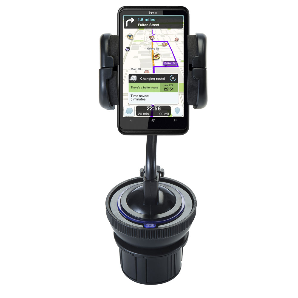Cup Holder compatible with the HTC HD7S