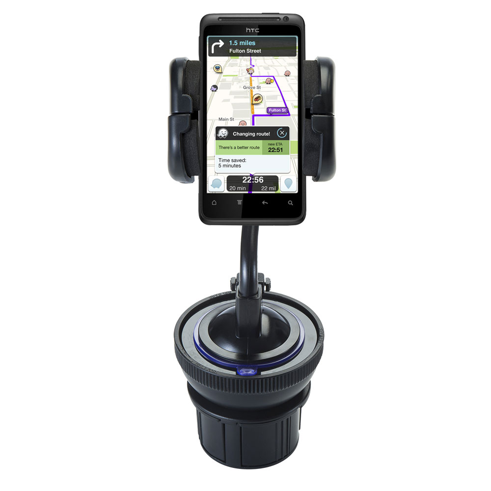 Cup Holder compatible with the HTC Hero 4G