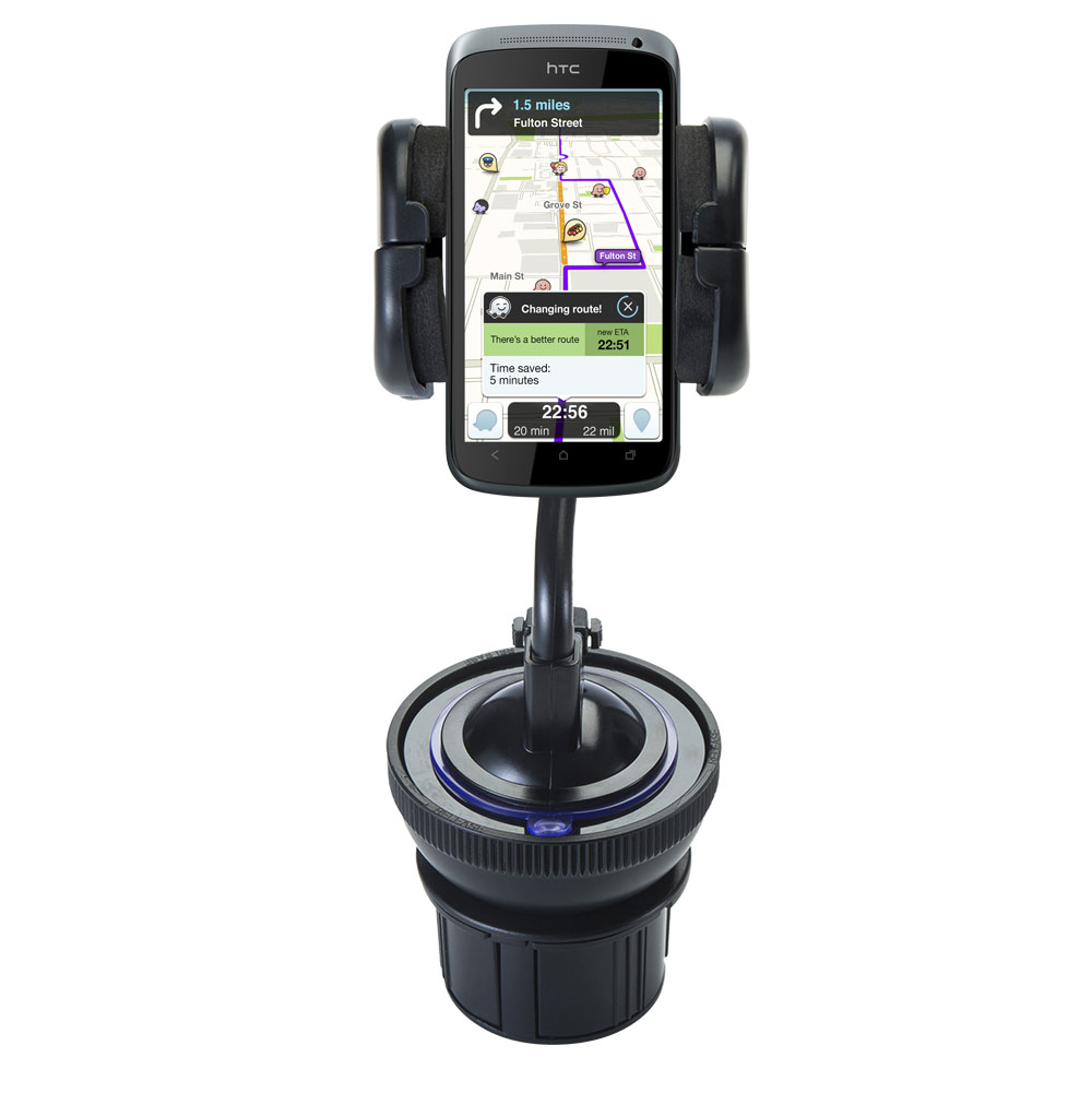 Cup Holder compatible with the HTC One S / Ville