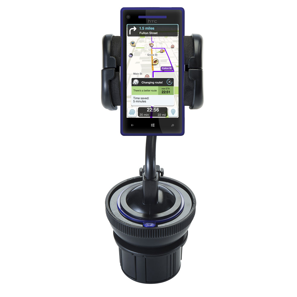 Cup Holder compatible with the HTC Windows Phone 8x