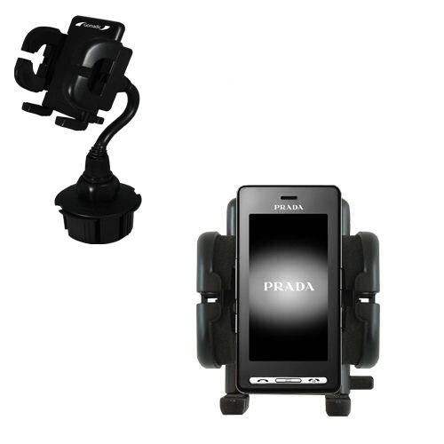 Cup Holder compatible with the LG KE850 Prada