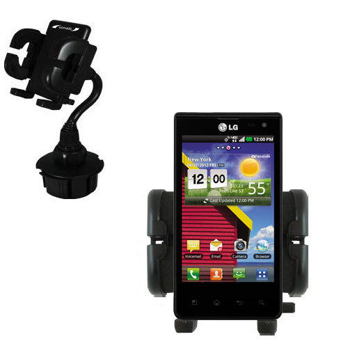 Cup Holder compatible with the LG Lucid 1 / 2 / 3