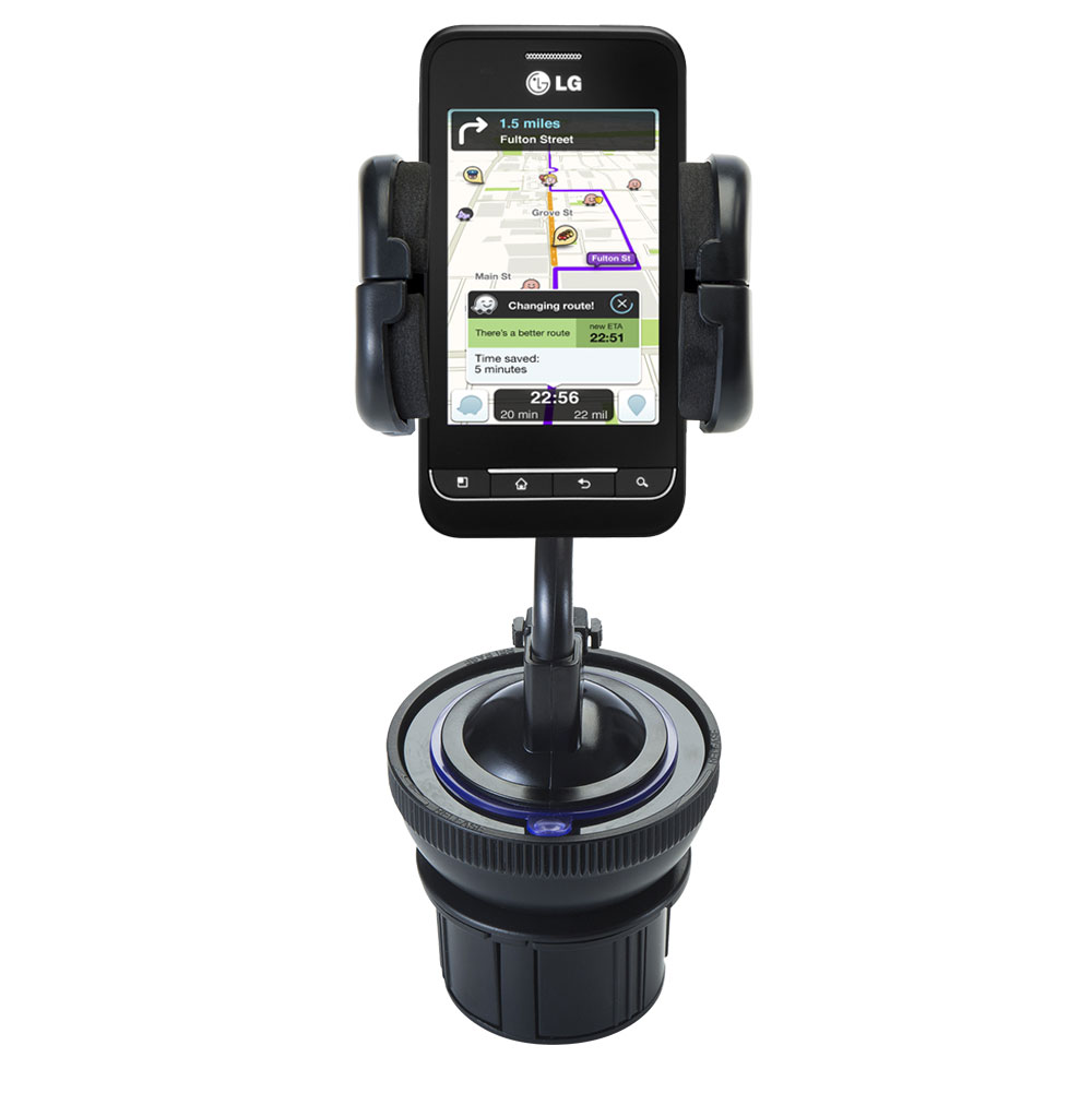 Cup Holder compatible with the LG Optimus 2