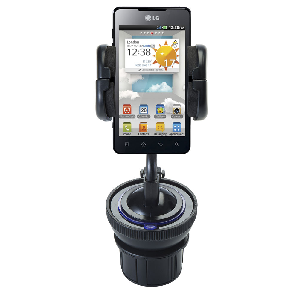 Cup Holder compatible with the LG Optimus 3D Cube