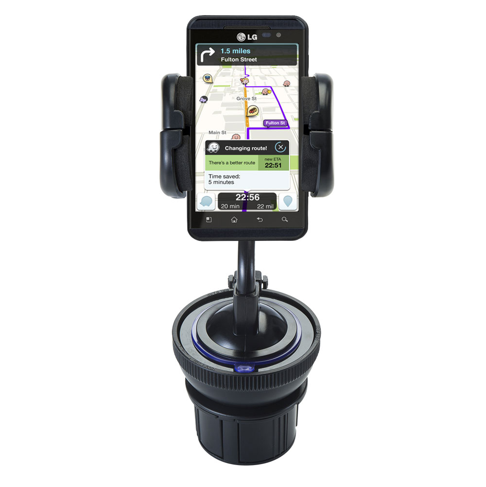 Cup Holder compatible with the LG Optimus 3D Max