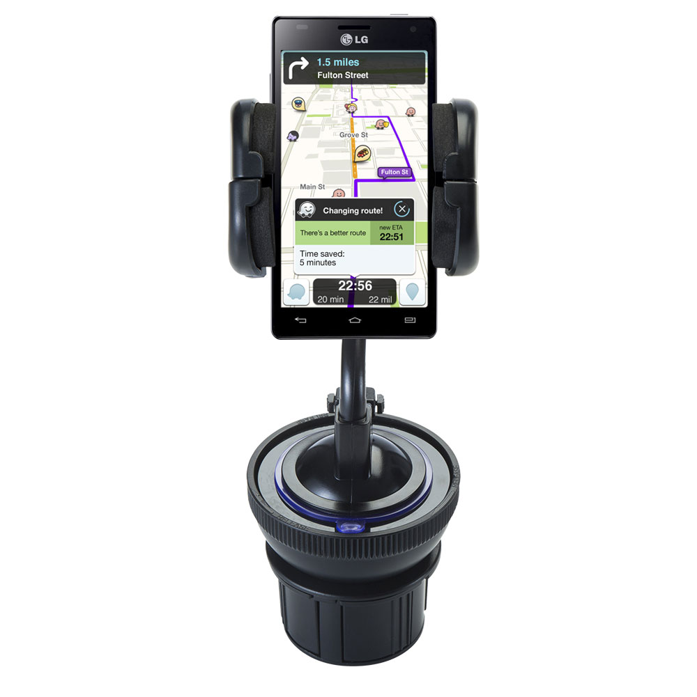 Cup Holder compatible with the LG Optimus 4X HD