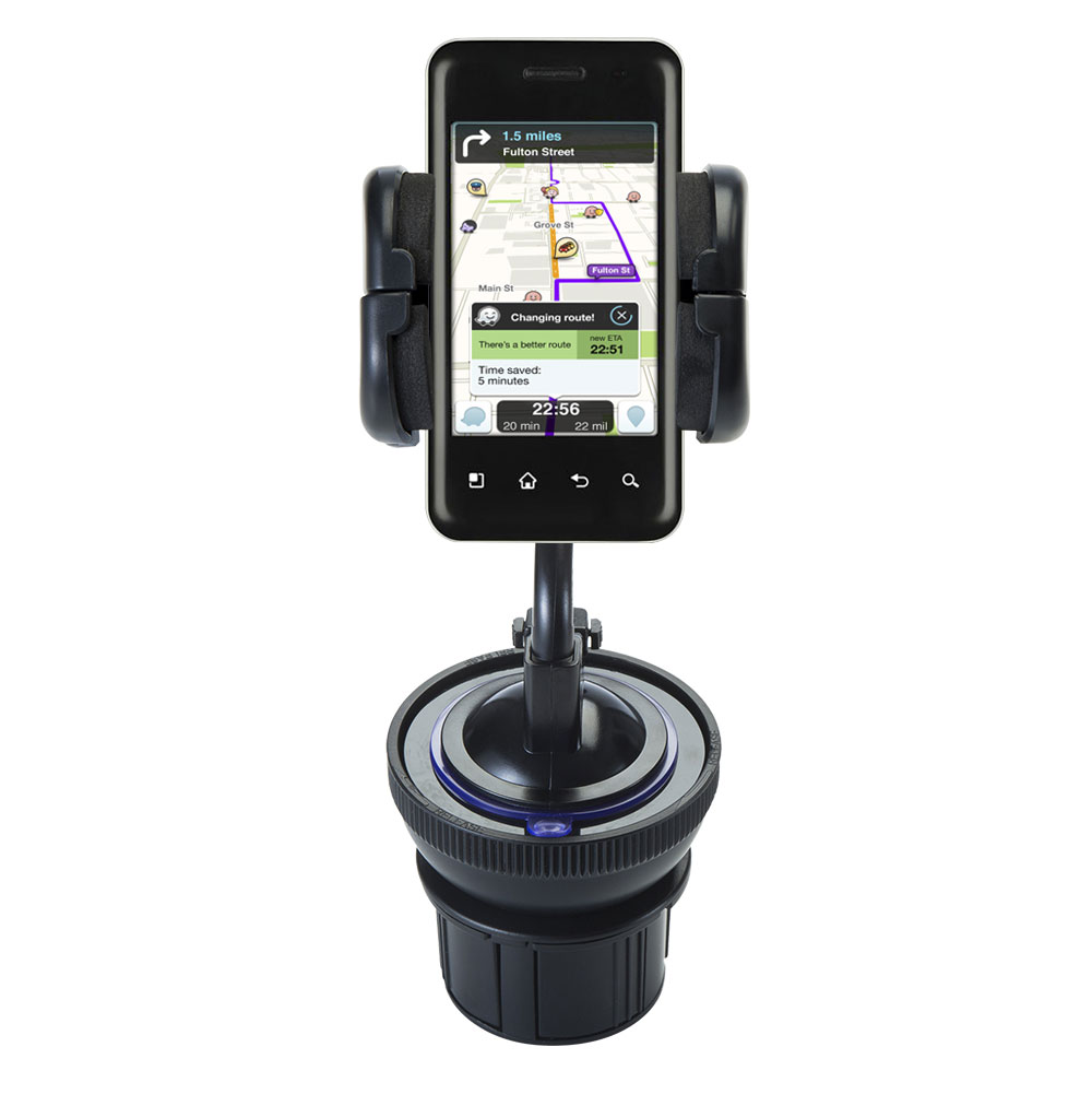Cup Holder compatible with the LG Optimus Chic