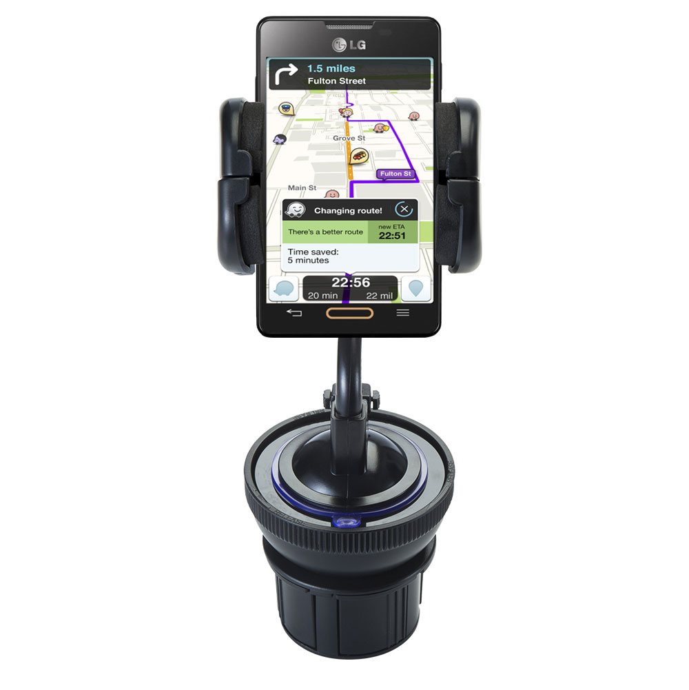 Cup Holder compatible with the LG Optimus L4 II