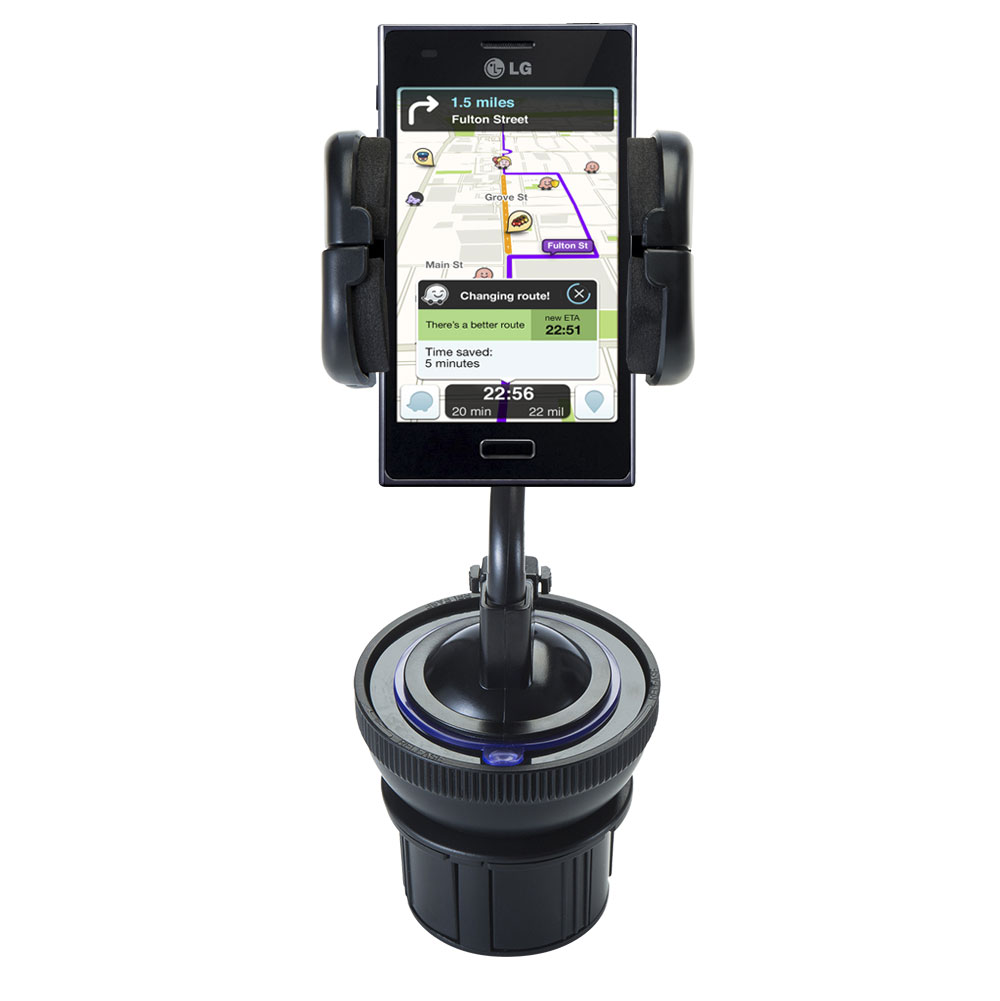 Cup Holder compatible with the LG Optimus L5