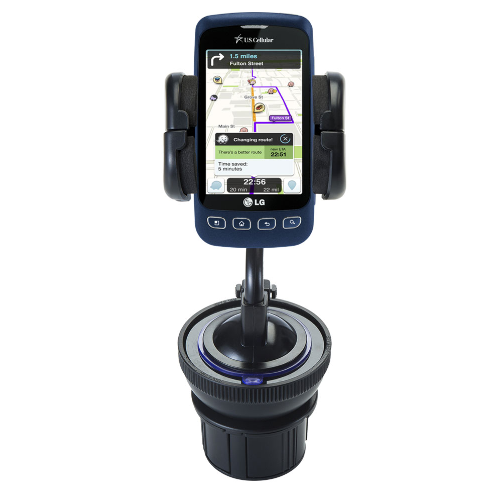 Cup Holder compatible with the LG Optimus S