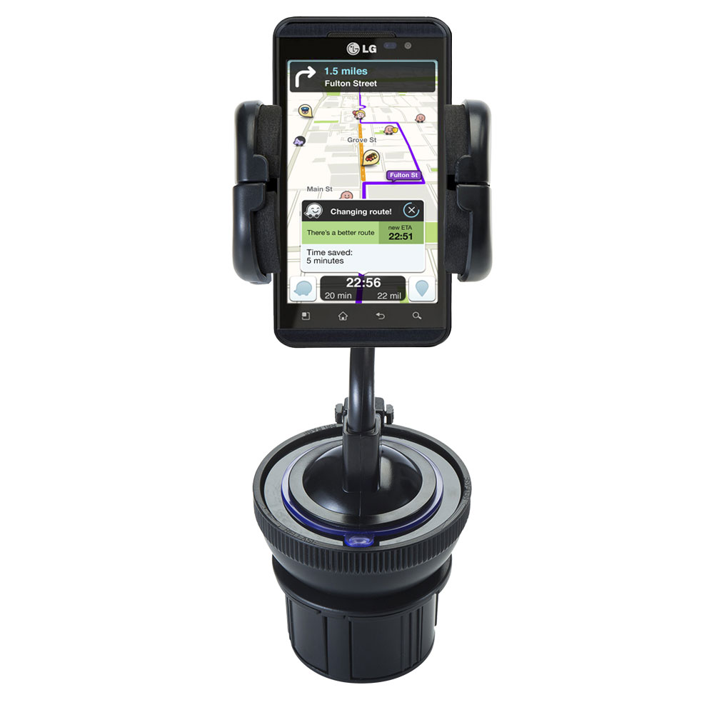 Cup Holder compatible with the LG Thrill 4G