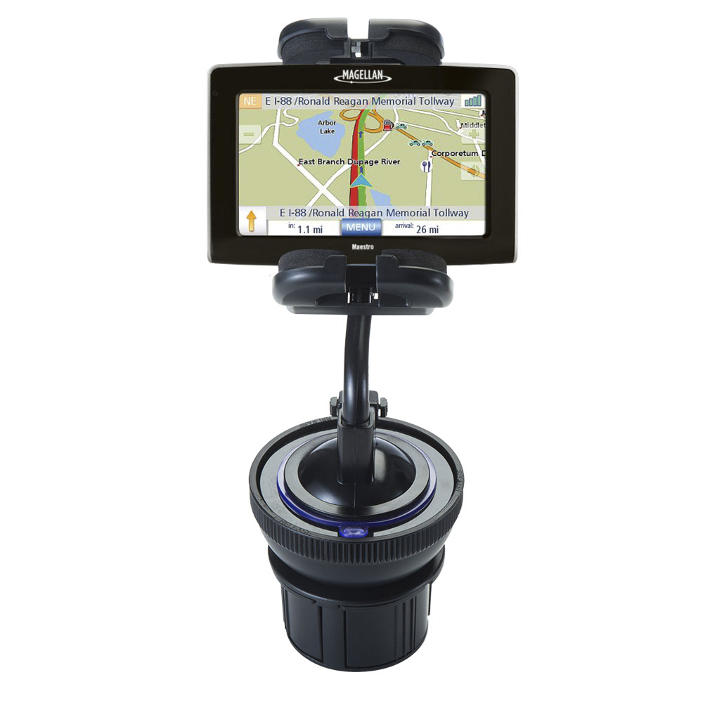Cup Holder compatible with the Magellan Maestro 4250