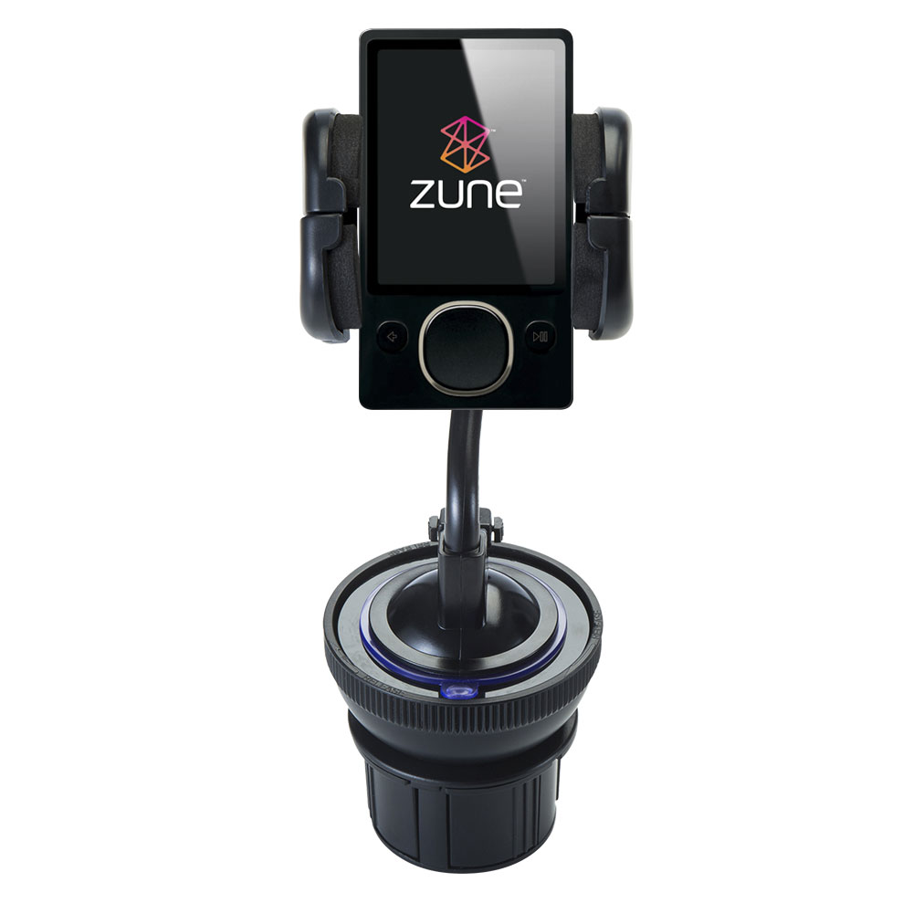 Cup Holder compatible with the Microsoft Zune (2nd and Latest Generation)