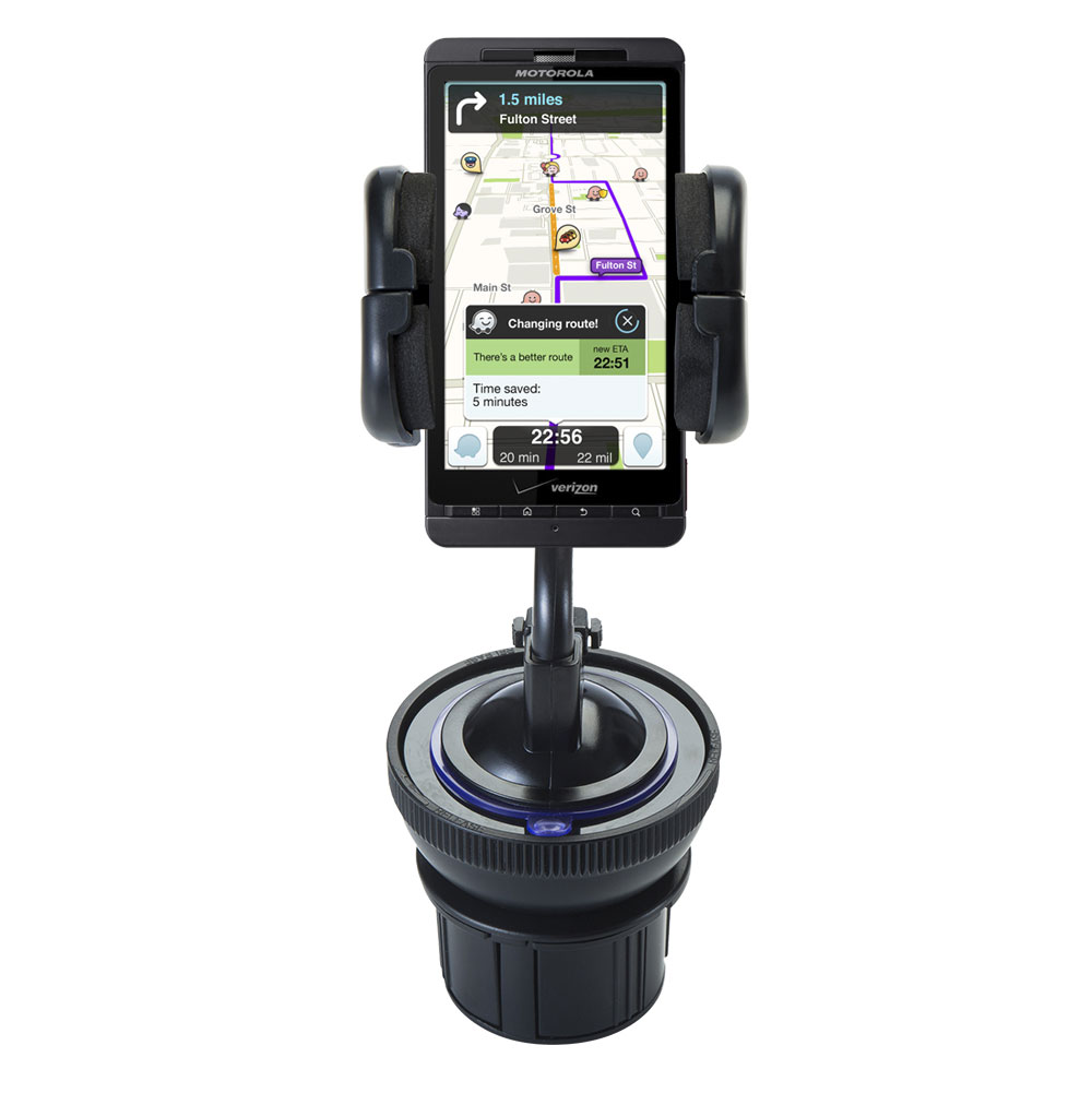 Cup Holder compatible with the Motorola Droid X