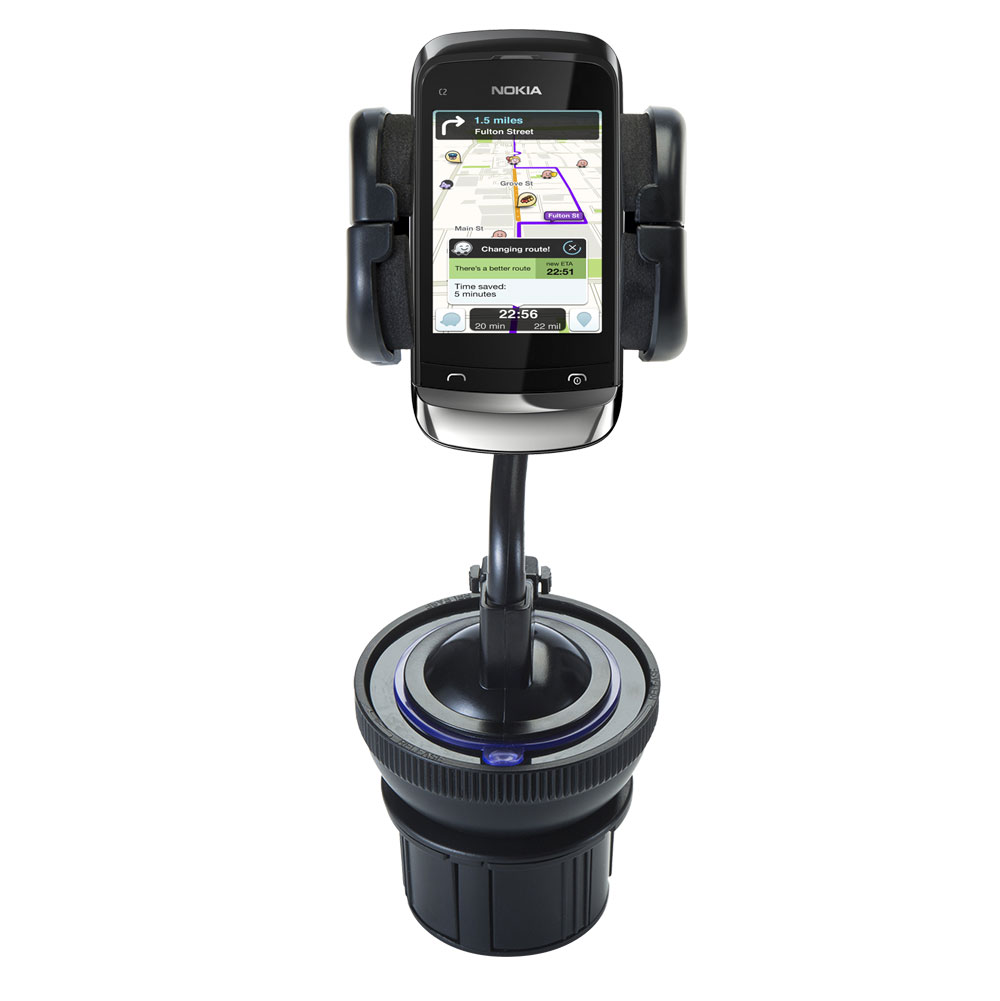 Cup Holder compatible with the Nokia C2-O2