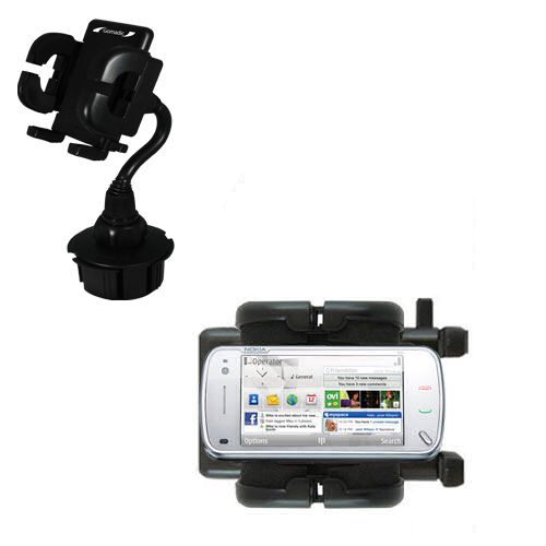Cup Holder compatible with the Nokia N97 Mini