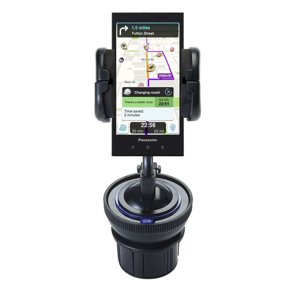 Cup Holder compatible with the Panasonic Eluga / dL1