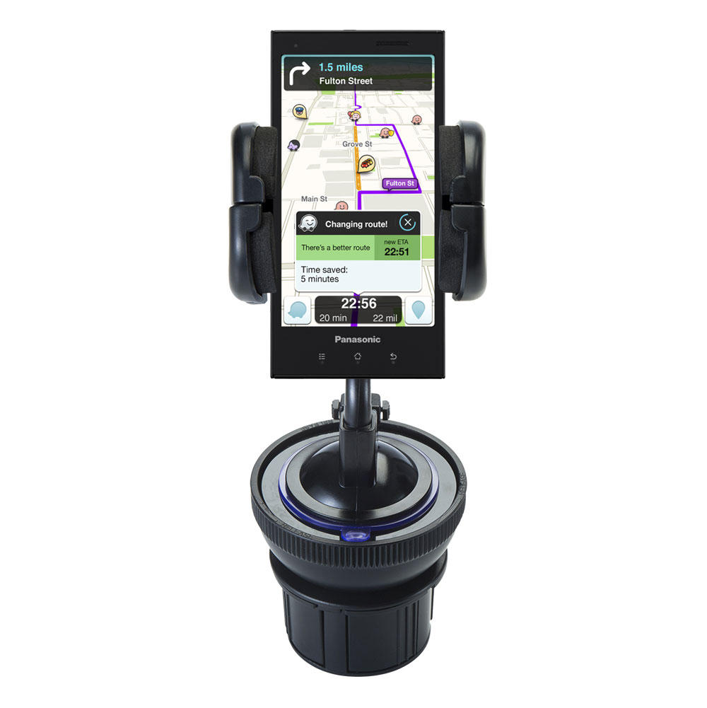 Cup Holder compatible with the Panasonic ELUGA Power