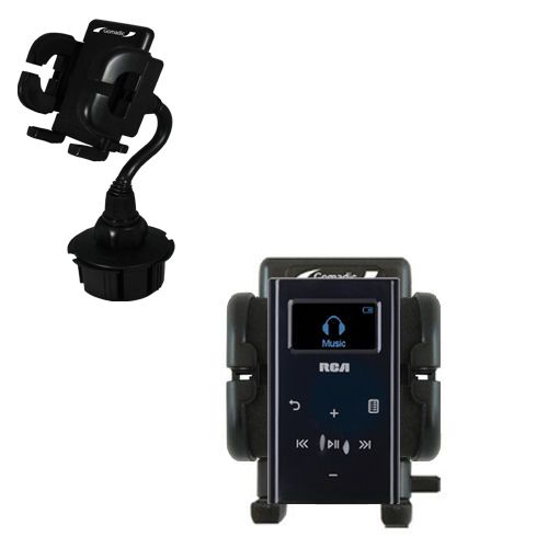 Cup Holder compatible with the RCA M2204 Lyra Digital Audio Player