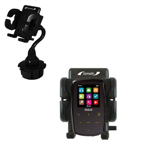 Cup Holder compatible with the RCA M3904 Lyra Digital Media Player