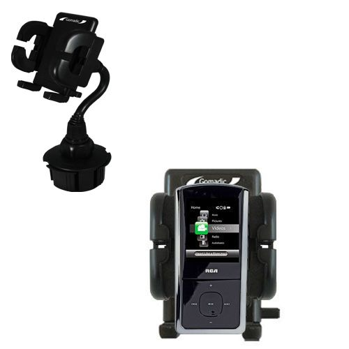 Cup Holder compatible with the RCA M4302 Digital Music Player