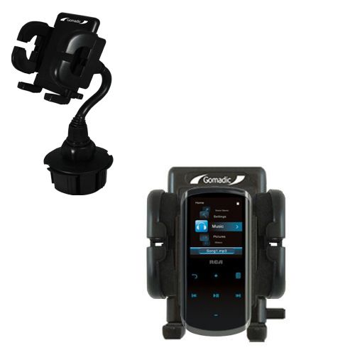 Cup Holder compatible with the RCA M4508 Lyra Digital Media Player
