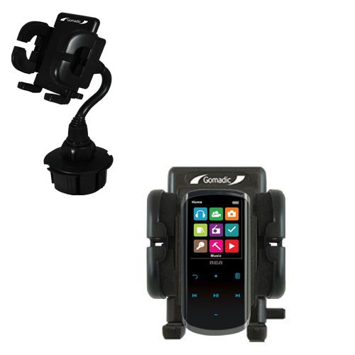 Cup Holder compatible with the RCA M4608 Lyra Digital Media Player