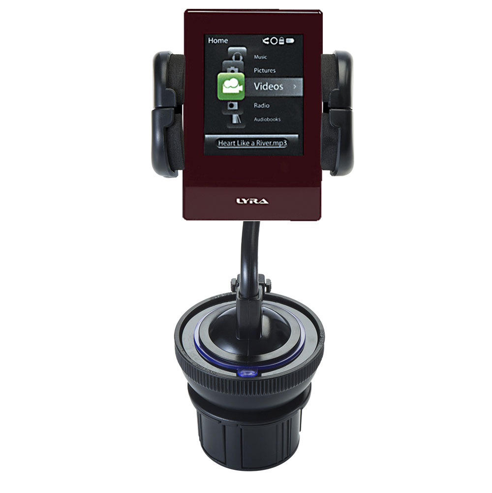 Cup Holder compatible with the RCA SL5008 LYRA Slider Media Player
