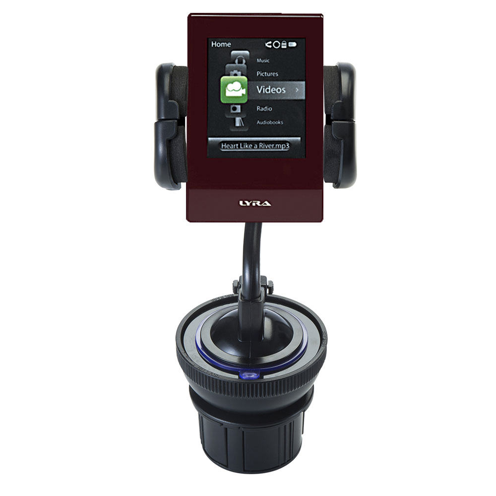 Cup Holder compatible with the RCA SL5016 LYRA Slider Media Player
