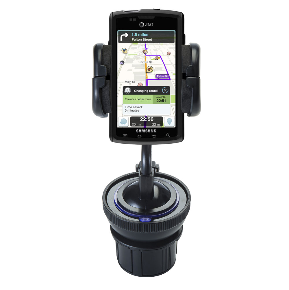 Cup Holder compatible with the Samsung Captivate