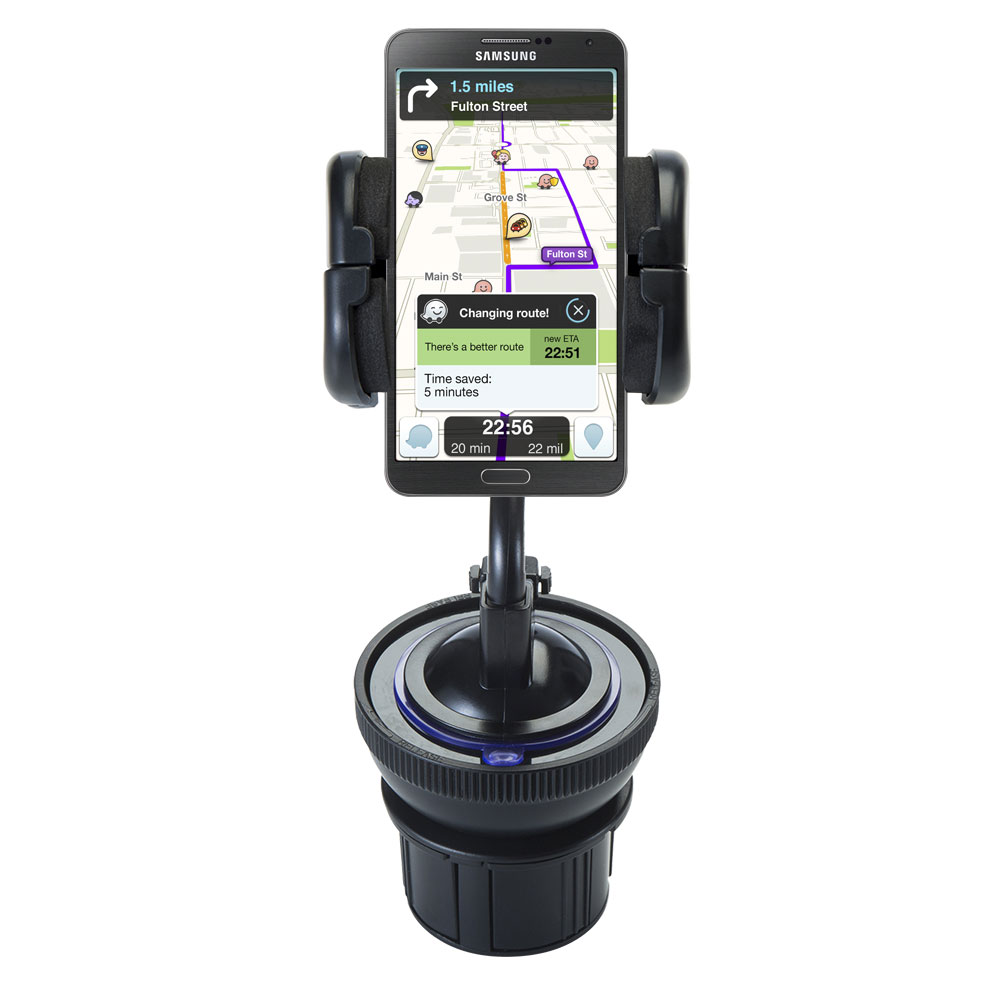 Cup Holder compatible with the Samsung Galaxy Note 3 / Note III
