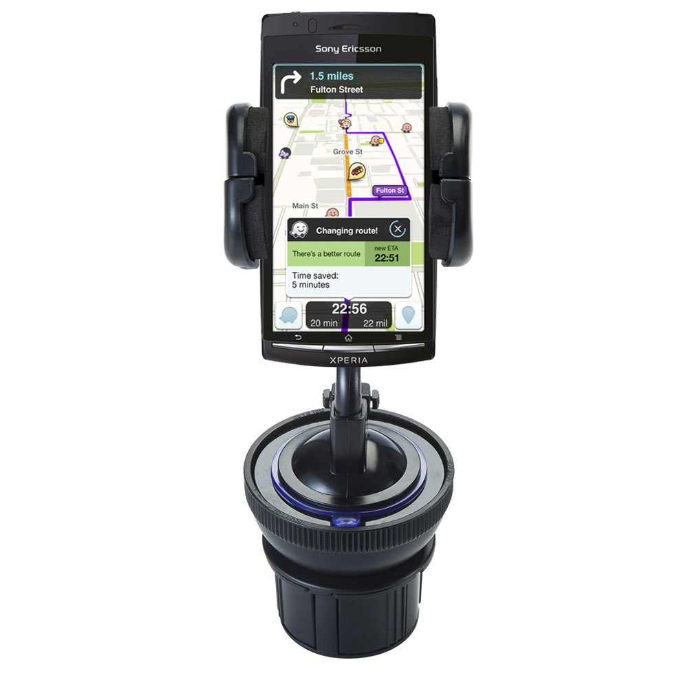 Cup Holder compatible with the Sony Ericsson LT15i