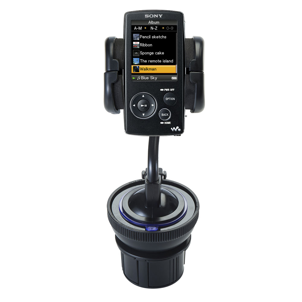 Cup Holder compatible with the Sony Walkman NWZ-A805