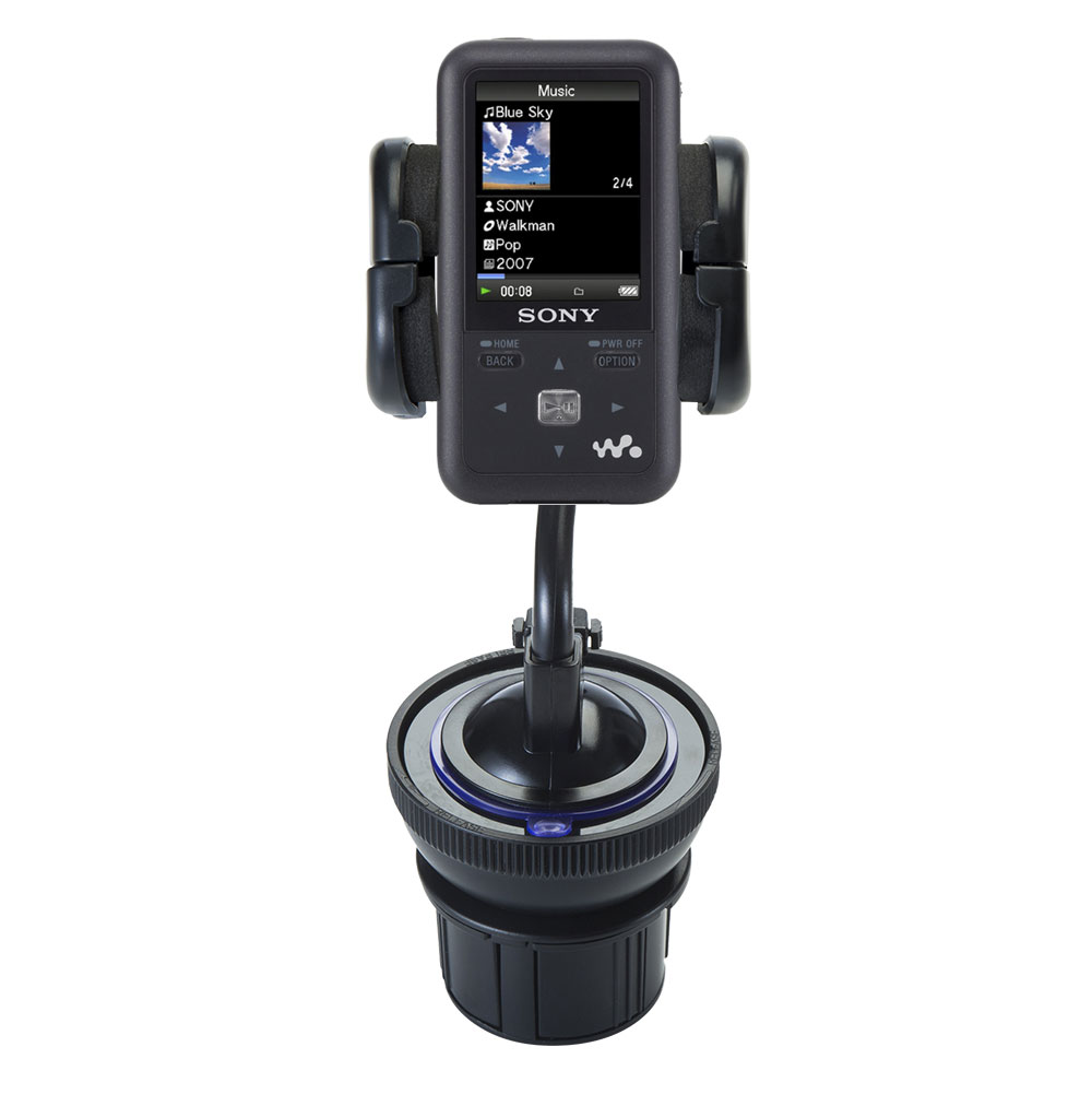 Cup Holder compatible with the Sony Walkman NWZ-S616