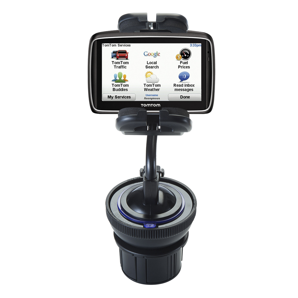 Cup Holder compatible with the TomTom 740