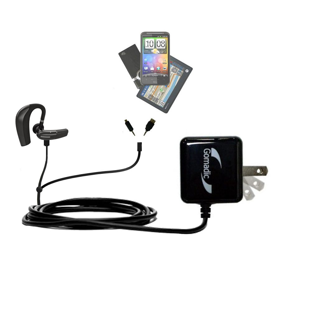 Double Wall Home Charger with tips including compatible with the BlueAnt CONNECT