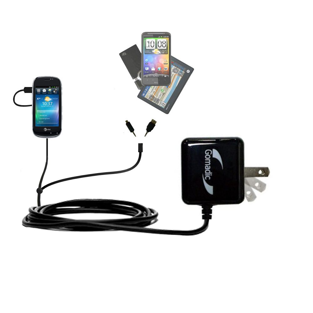 Double Wall Home Charger with tips including compatible with the Dell Aero