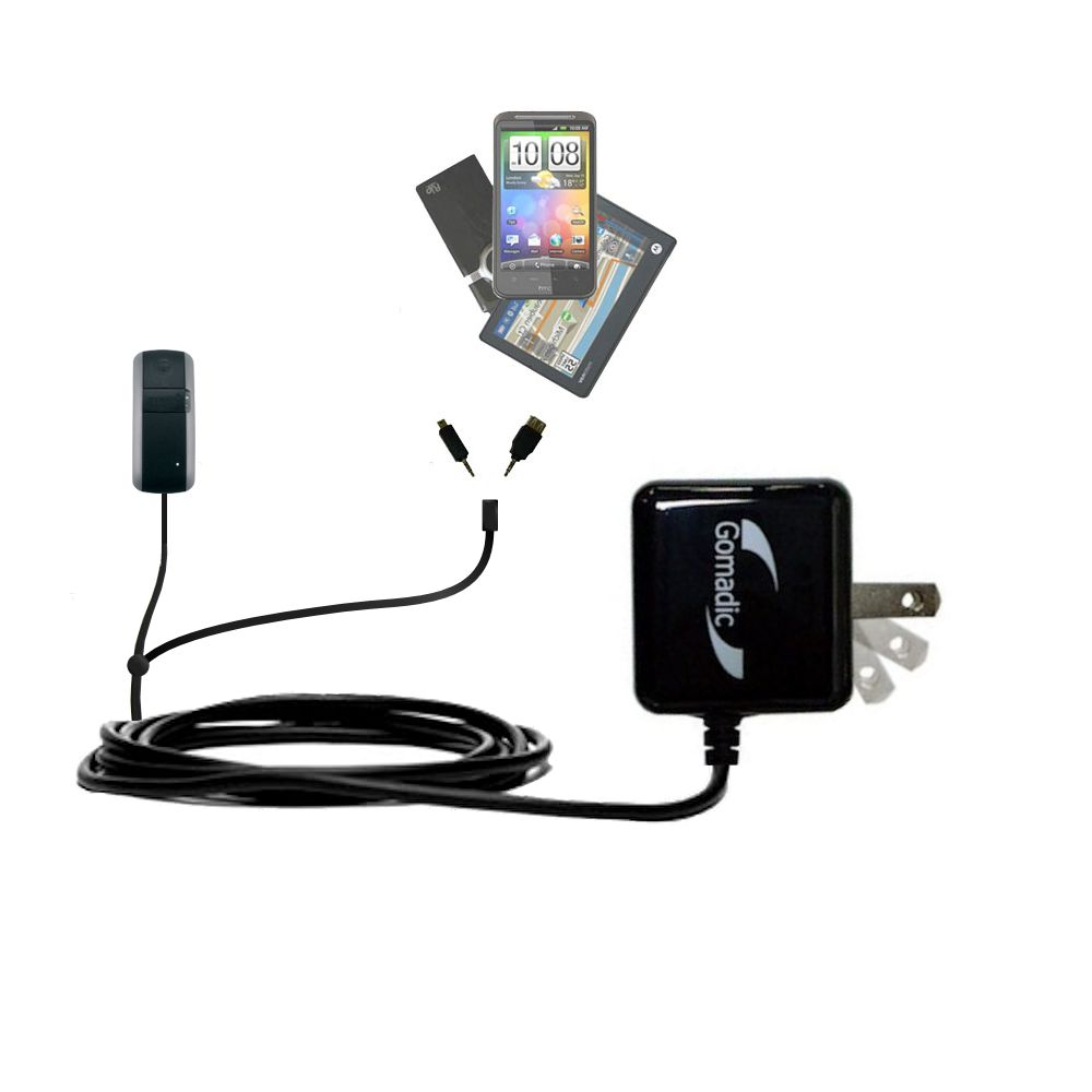 Double Wall Home Charger with tips including compatible with the Garmin GTU 10 Alpha Astro