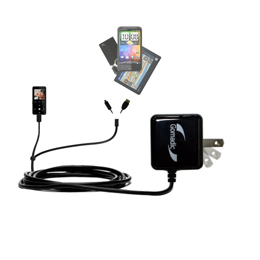 Double Wall Home Charger with tips including compatible with the Jens of Sweden MP-X