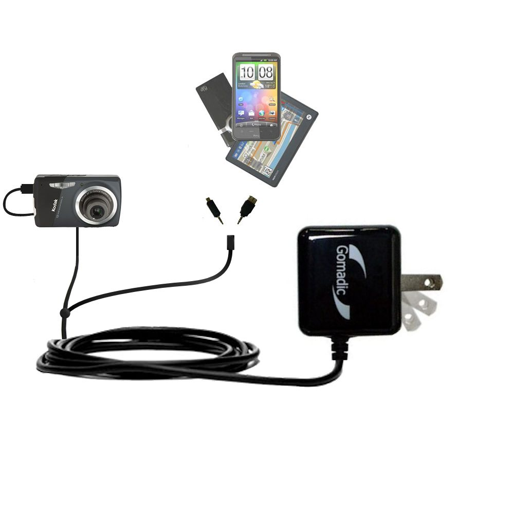Double Wall Home Charger with tips including compatible with the Kodak EasyShare M575