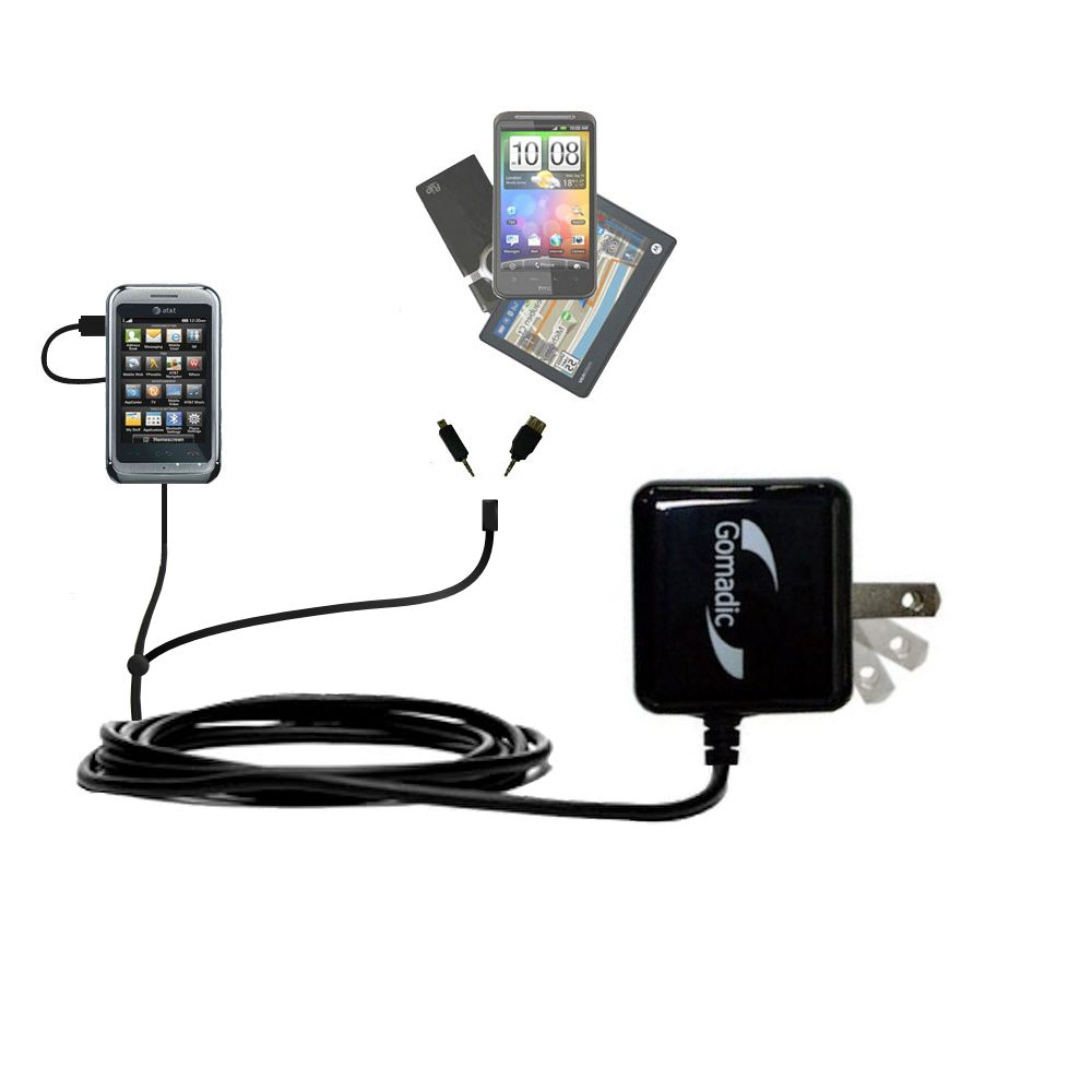 Double Wall Home Charger with tips including compatible with the LG Arena