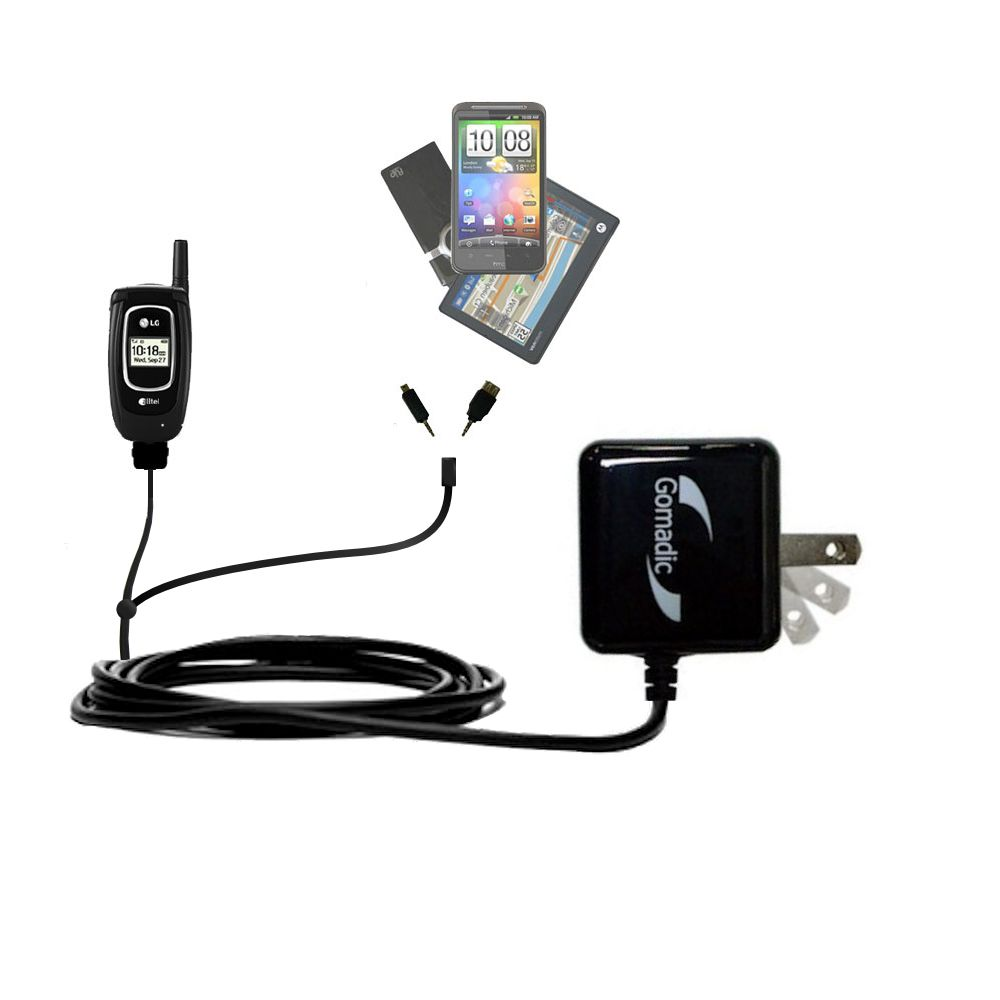 Double Wall Home Charger with tips including compatible with the LG AX-4270